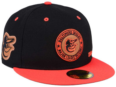 Baltimore Orioles New Era MLB X Wilson Circle Patch 59FIFTY Cap