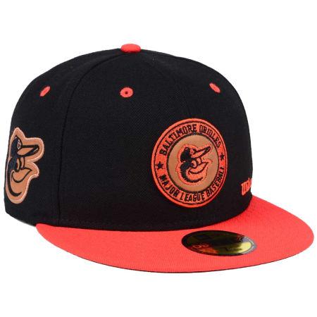 Baltimore Orioles New Era MLB X Wilson Circle Patch 59FIFTY Cap