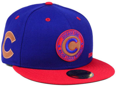 Chicago Cubs New Era MLB X Wilson Circle Patch 59FIFTY Cap
