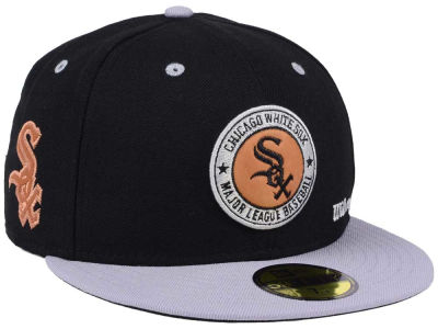 Chicago White Sox New Era MLB X Wilson Circle Patch 59FIFTY Cap