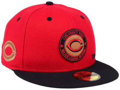 Cincinnati Reds New Era MLB X Wilson Circle Patch 59FIFTY Cap