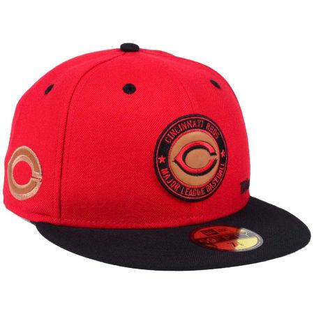 Cincinnati Reds New Era MLB X Wilson Circle Patch 59FIFTY Cap