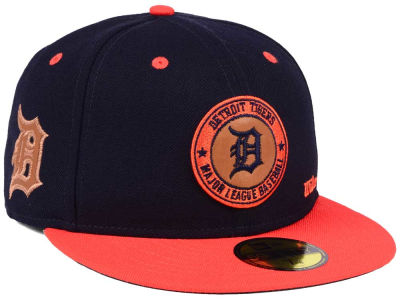 Detroit Tigers New Era MLB X Wilson Circle Patch 59FIFTY Cap