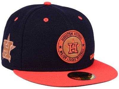 Houston Astros New Era MLB X Wilson Circle Patch 59FIFTY Cap