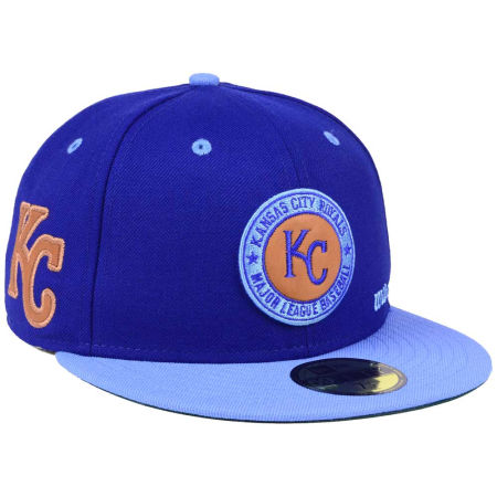 Kansas City Royals New Era MLB X Wilson Circle Patch 59FIFTY Cap