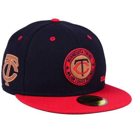 Minnesota Twins New Era MLB X Wilson Circle Patch 59FIFTY Cap