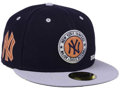 New York Yankees New Era MLB X Wilson Circle Patch 59FIFTY Cap
