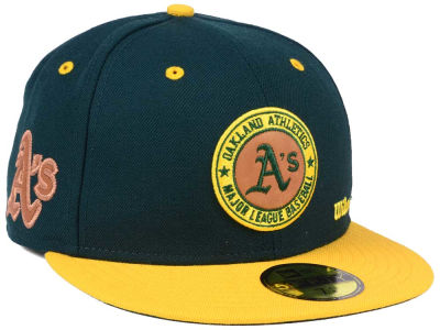 Oakland Athletics New Era MLB X Wilson Circle Patch 59FIFTY Cap