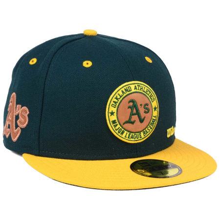 Oakland Athletics New Era MLB X Wilson Circle Patch 59FIFTY Cap