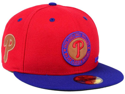 Philadelphia Phillies New Era MLB X Wilson Circle Patch 59FIFTY Cap