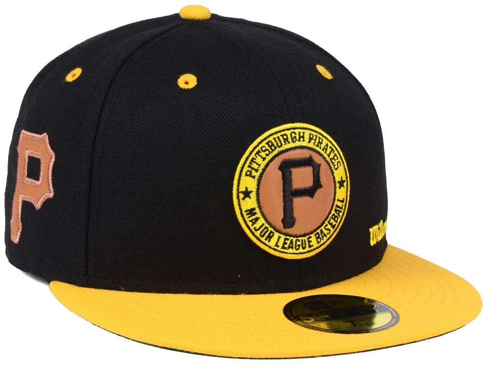 sneakers for cheap 190e7 30e1e Pittsburgh Pirates New Era MLB X Wilson Circle Patch 59FIFTY Cap   lids.com
