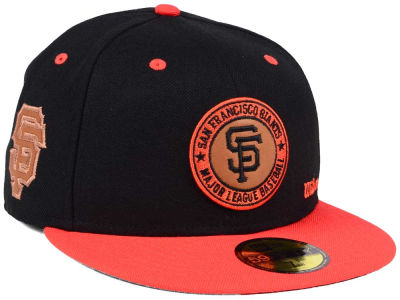 San Francisco Giants New Era MLB X Wilson Circle Patch 59FIFTY Cap