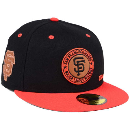 San Francisco Giants New Era MLB X Wilson Circle Patch 59FIFTY Cap