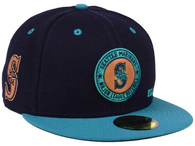Seattle Mariners New Era MLB X Wilson Circle Patch 59FIFTY Cap