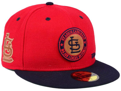 St. Louis Cardinals New Era MLB X Wilson Circle Patch 59FIFTY Cap