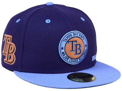 Tampa Bay Rays New Era MLB X Wilson Circle Patch 59FIFTY Cap