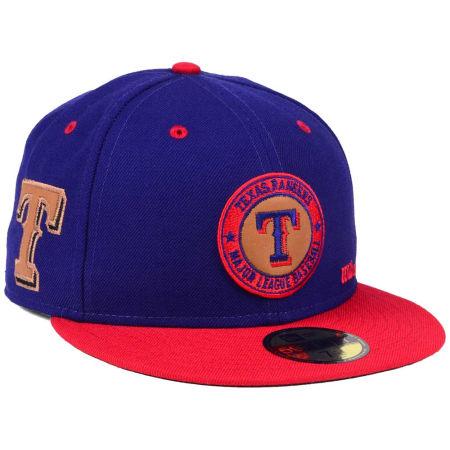 Texas Rangers New Era MLB X Wilson Circle Patch 59FIFTY Cap