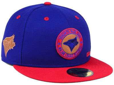 Toronto Blue Jays New Era MLB X Wilson Circle Patch 59FIFTY Cap
