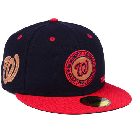 Washington Nationals New Era MLB X Wilson Circle Patch 59FIFTY Cap