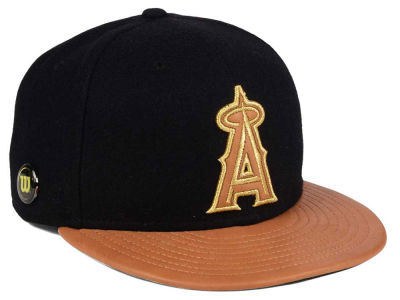 Los Angeles Angels New Era MLB X Wilson Metallic 59FIFTY Cap