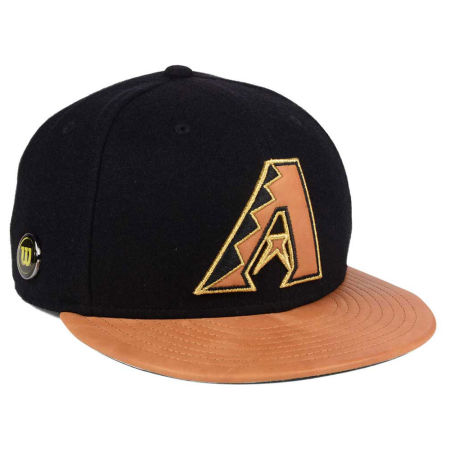 Arizona Diamondbacks New Era MLB X Wilson Metallic 59FIFTY Cap