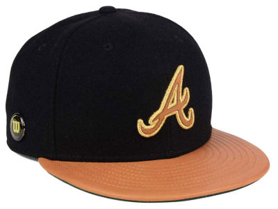 Atlanta Braves New Era MLB X Wilson Metallic 59FIFTY Cap