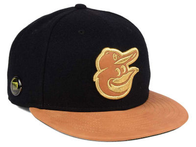 Baltimore Orioles New Era MLB X Wilson Metallic 59FIFTY Cap