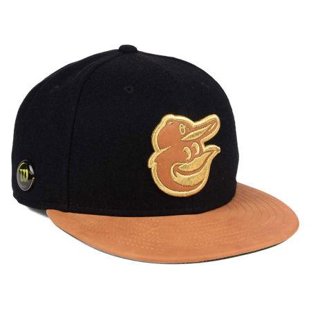 Baltimore Orioles New Era MLB X Wilson Metallic 59FIFTY Cap