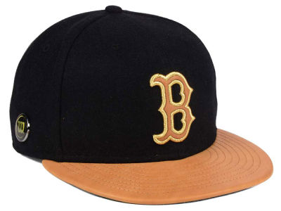 Boston Red Sox New Era MLB X Wilson Metallic 59FIFTY Cap