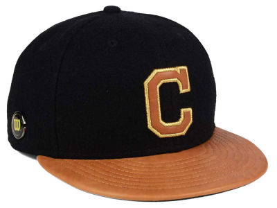 Cleveland Indians New Era MLB X Wilson Metallic 59FIFTY Cap