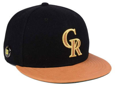 Colorado Rockies New Era MLB X Wilson Metallic 59FIFTY Cap