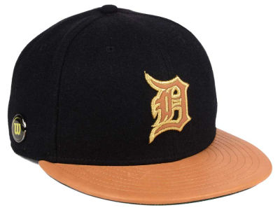Detroit Tigers New Era MLB X Wilson Metallic 59FIFTY Cap