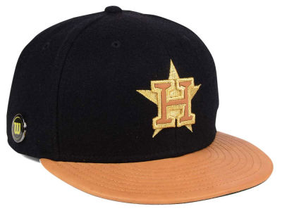 Houston Astros New Era MLB X Wilson Metallic 59FIFTY Cap