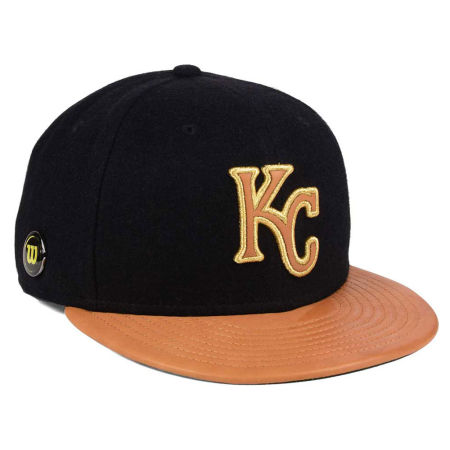 Kansas City Royals New Era MLB X Wilson Metallic 59FIFTY Cap