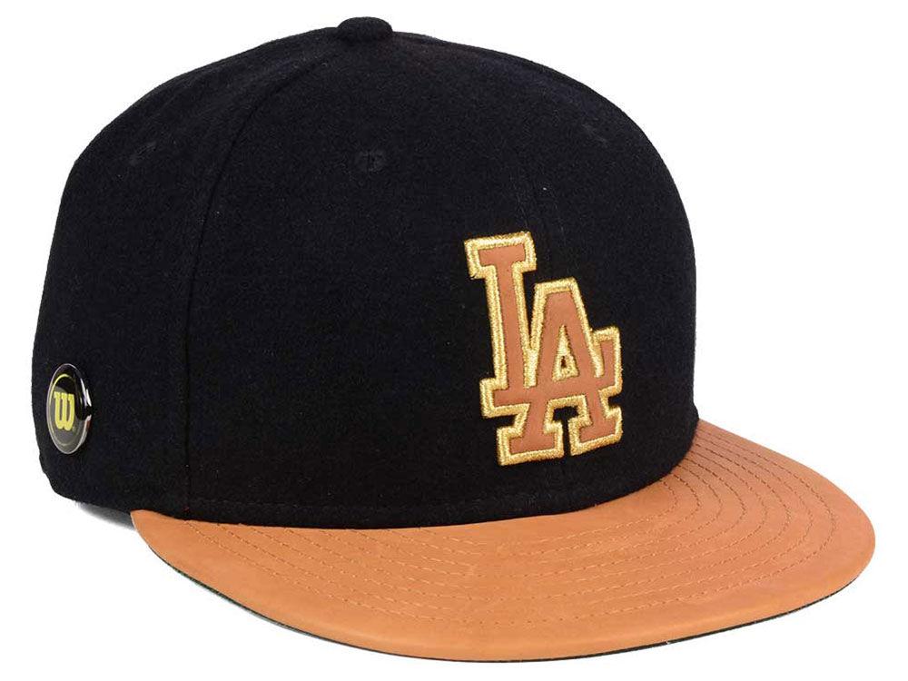 f98737f8003 Los Angeles Dodgers New Era MLB X Wilson Metallic 59FIFTY Cap