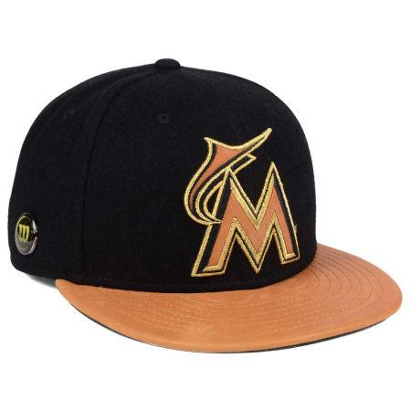 Miami Marlins New Era MLB X Wilson Metallic 59FIFTY Cap
