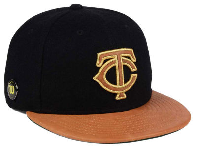 Minnesota Twins New Era MLB X Wilson Metallic 59FIFTY Cap