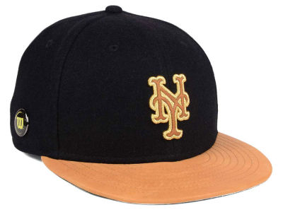 New York Mets New Era MLB X Wilson Metallic 59FIFTY Cap