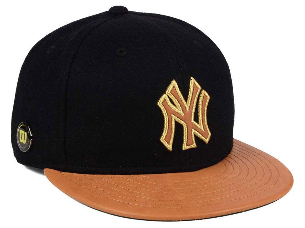 fc6ab06f3bf New York Yankees New Era MLB X Wilson Metallic 59FIFTY Cap