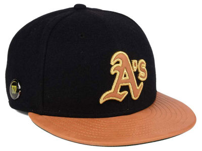 Oakland Athletics New Era MLB X Wilson Metallic 59FIFTY Cap