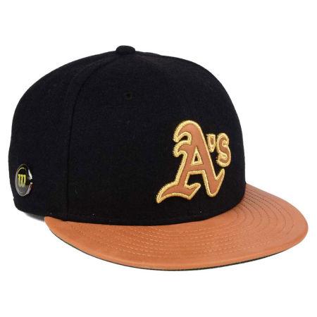 Oakland Athletics New Era MLB X Wilson Metallic 59FIFTY Cap