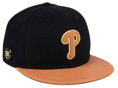 Philadelphia Phillies New Era MLB X Wilson Metallic 59FIFTY Cap