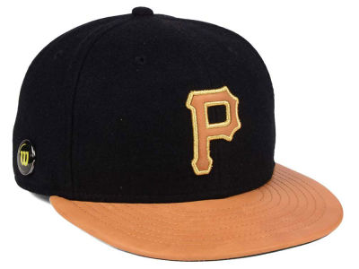 Pittsburgh Pirates New Era MLB X Wilson Metallic 59FIFTY Cap