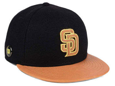 San Diego Padres New Era MLB X Wilson Metallic 59FIFTY Cap