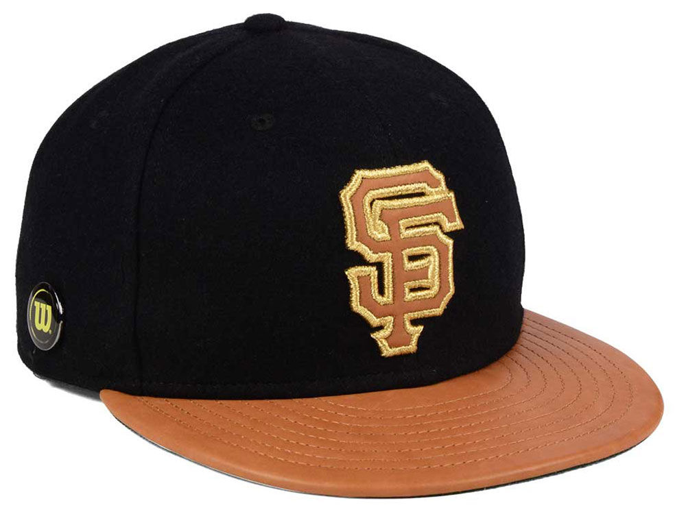 4956a75f341 ... promo code for san francisco giants new era mlb x wilson metallic  59fifty cap 3405d 698ab