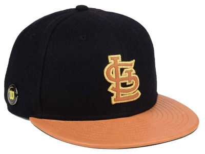St. Louis Cardinals New Era MLB X Wilson Metallic 59FIFTY Cap