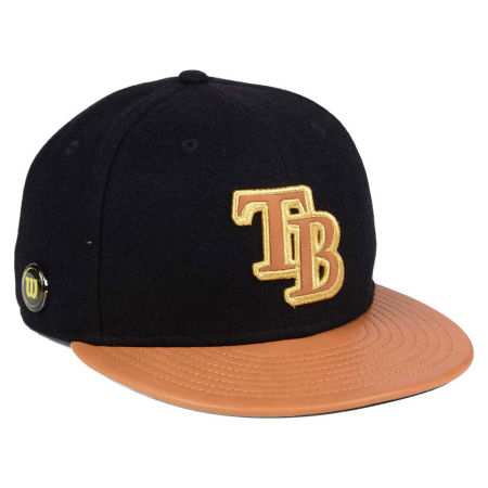 Tampa Bay Rays New Era MLB X Wilson Metallic 59FIFTY Cap