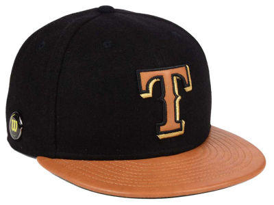 Texas Rangers New Era MLB X Wilson Metallic 59FIFTY Cap