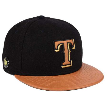 Texas Rangers New Era MLB X Wilson Metallic 59FIFTY Cap