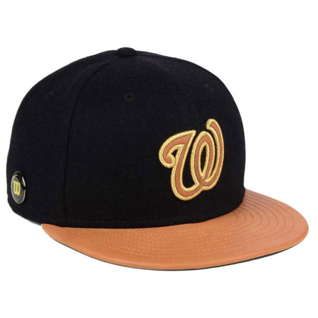 Washington Nationals New Era MLB X Wilson Metallic 59FIFTY Cap